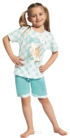 Piżama Girl Kids Kr 582 - Rabbit - 128